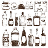 Bottles and Jars Stock Images