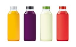 Bottles for juice. Royalty Free Stock Photo