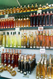 Bottles of liquor Royalty Free Stock Photography