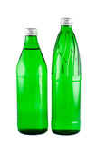 Bottles with mineral water. Stock Images