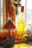 bottles mitt kök Royaltyfri Bild