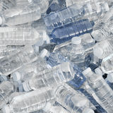 bottles nytt stapelvatten Royaltyfri Bild