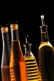 Bottles Of Oil Stock Photos