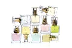 Bottles Of Perfume Stock Photo