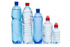 Free Bottles Of Water Isolated Royalty Free Stock Photo - 9562695