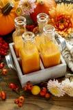 Bottles with orange juice Royalty Free Stock Image