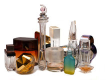 Bottles of perfume Royalty Free Stock Image