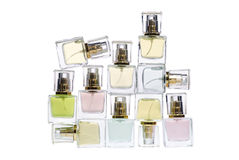 Bottles of perfume Stock Photo