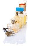 Bottles Of Perfume III Royalty Free Stock Photos