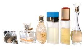 Bottles Of Perfume IV. Bottles of perfume over white background Royalty Free Stock Photo