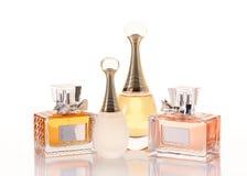 Bottles of perfume Stock Image