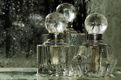 Bottles for perfumery Royalty Free Stock Images