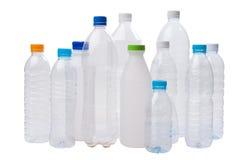bottles plast- fotografering för bildbyråer