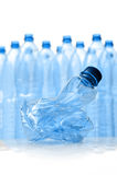 bottles plast- Arkivfoto