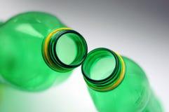 bottles plast- Royaltyfri Foto
