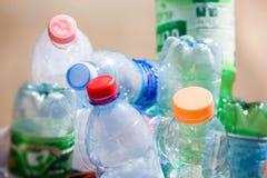 bottles plast- Royaltyfri Fotografi