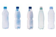 bottles plastic vatten Royaltyfri Bild
