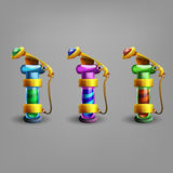 Bottles of potion. royalty free illustration