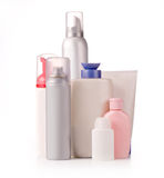 Bottles of  products Stock Image
