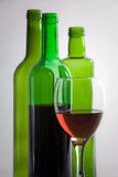 Bottles of red wine Royalty Free Stock Photography