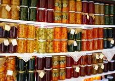 bottles sötsaker Arkivbilder