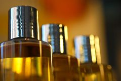Bottles of scent Royalty Free Stock Photography