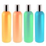 Bottles for shampoos Stock Photo