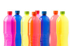 Bottles of soft drinks Royalty Free Stock Image