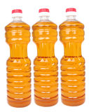 Bottles with vegetable oil Royalty Free Stock Image