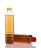 Bottles of vinegar. On a white background Royalty Free Stock Image