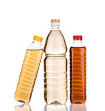 Bottles of vinegar Royalty Free Stock Photo