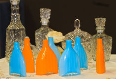 Bottles vodka Royalty Free Stock Image