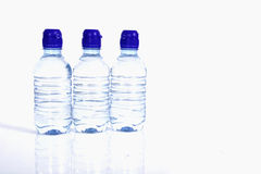 Bottles of water Royalty Free Stock Photography