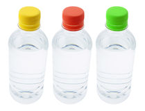 Bottles of Water Stock Images