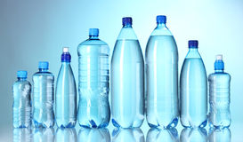 Bottles of water Royalty Free Stock Image