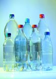 Bottles water Royalty Free Stock Images