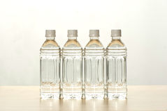 The bottles of water. On the background Royalty Free Stock Photography