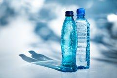 Bottles of water Stock Photos