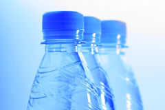 Bottles with water Royalty Free Stock Image