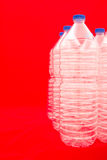 Bottles of water Royalty Free Stock Photos