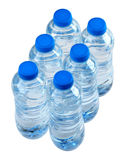 Bottles of water Stock Image