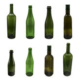 Bottles on white Royalty Free Stock Photos