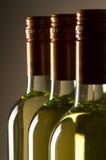 Bottles of white wine Royalty Free Stock Photo