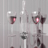 bottles wine 免版税库存照片