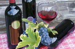 Bottles of wine Royalty Free Stock Photos