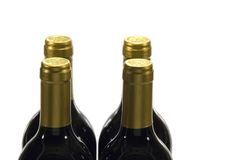 Bottles of wine Royalty Free Stock Image