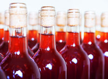 Bottles of wine. Royalty Free Stock Images