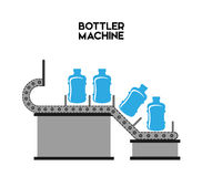 Bottling Company design Royalty Free Stock Photography