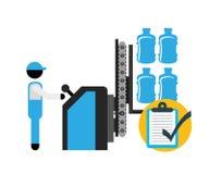 Bottling Company design Stock Photo