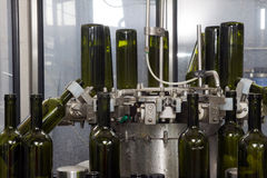 Bottling line Royalty Free Stock Photography